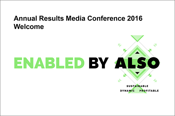 Annual Results Media Conference 2016