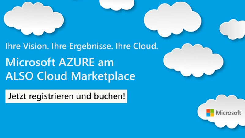 Microsoft Azure am ALSO Cloud Marketplace