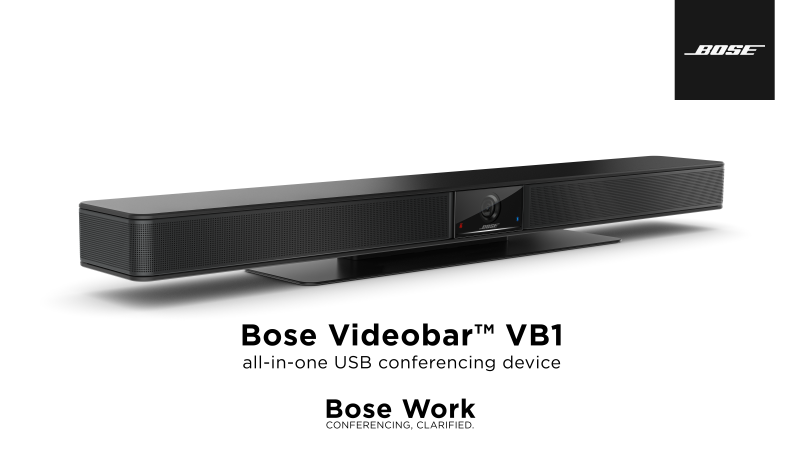 Bose VideobarTM VB-1 USB all-in-one