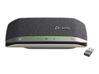 Poly Sync 20+ (with Poly BT600) - Speakerphone hands-free - Bluetooth - wireless, wired - USB-A, USB-A via Bluetooth adapter